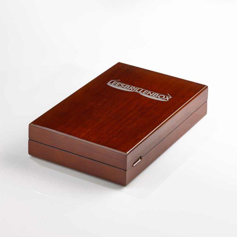 leesbrillenbox bruin