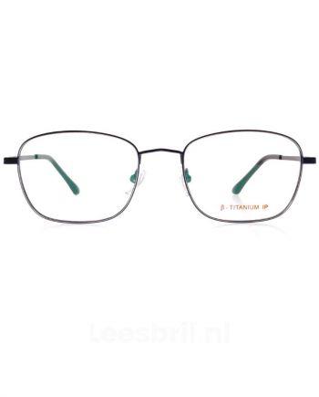 Alston. Titanium leesbril op maat